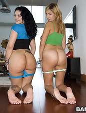 Puerto Rican Chubby Butts